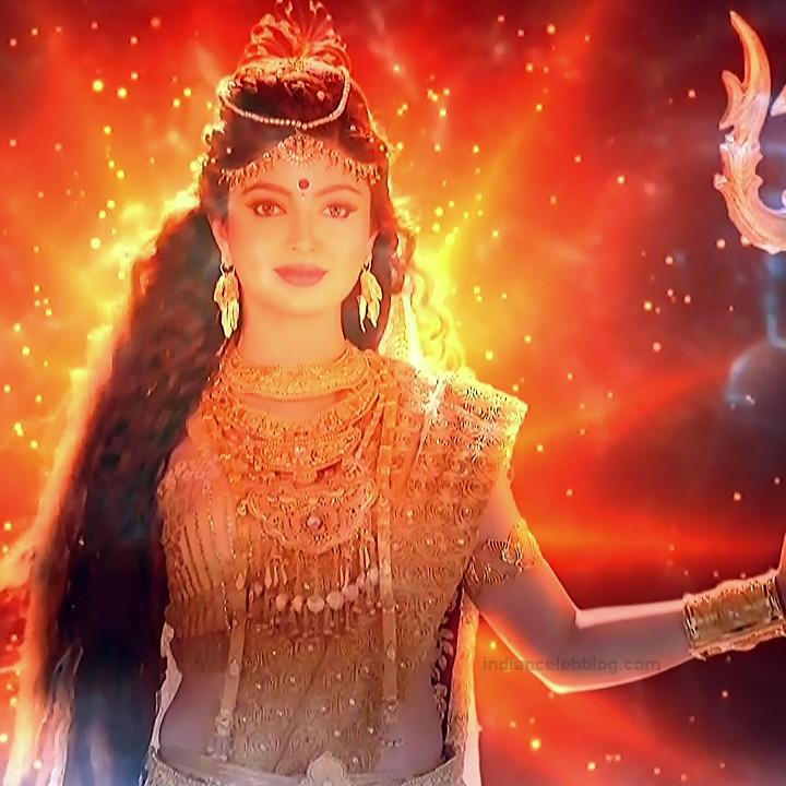 Akansha puri hindi tv actress Ganesha GS2 12 Adi parashakti caps