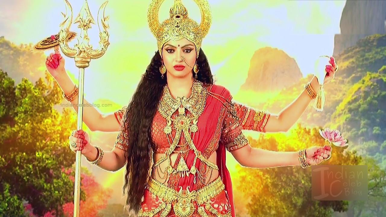 Akansha puri hindi tv actress Ganesha GS2 14 Adi parashakti image