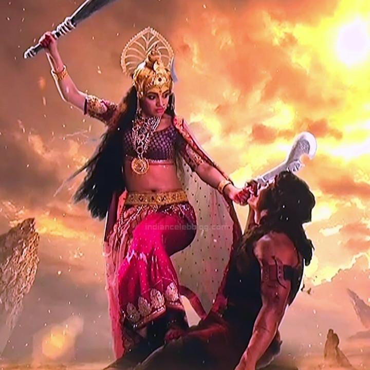 Akansha puri hindi tv actress Vighnaharta GS2 7 Adi parashakti caps