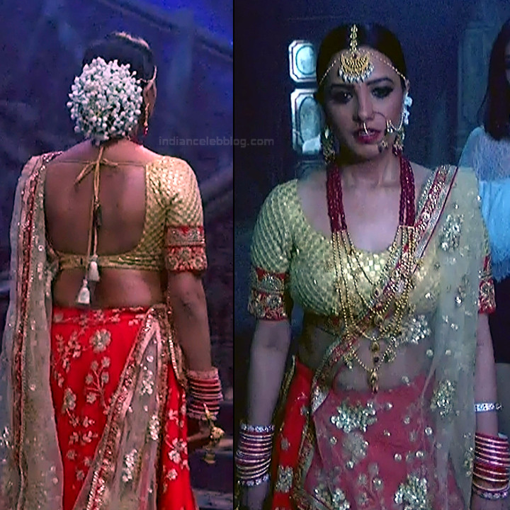 Anita hassanandani hindi tv actress Naagin S1 7 hot lehenga pics