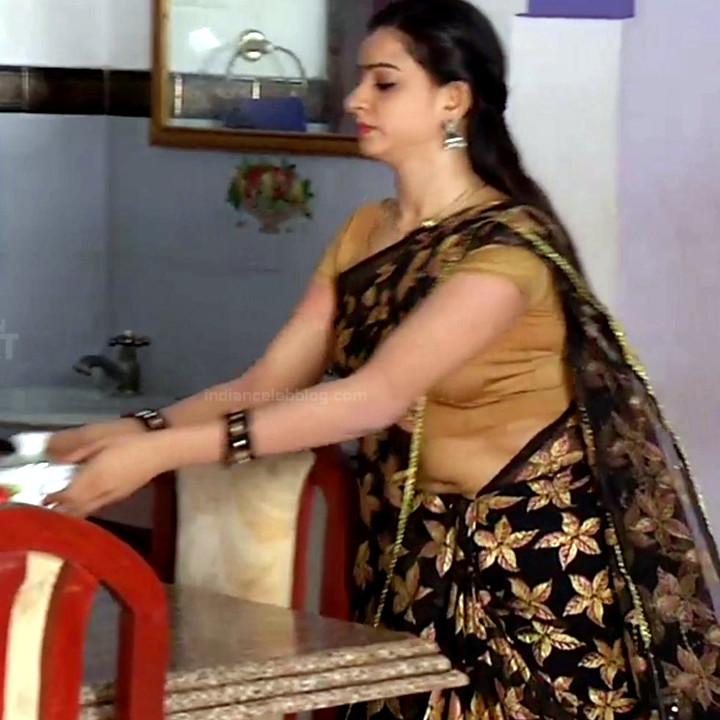Divya ganesh tamil serial actress sumangali S4 15 saree caps