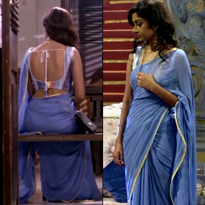 Farnaz shetty hindi tv actress Siddhi VS1 13 hot saree pics