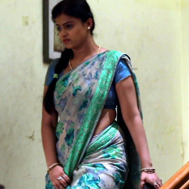 Kavitha tamil tv actress Neeli S1 12 hot sari photo