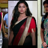 Kavitha gowda Tamil TV actress hot photos and caps in saree