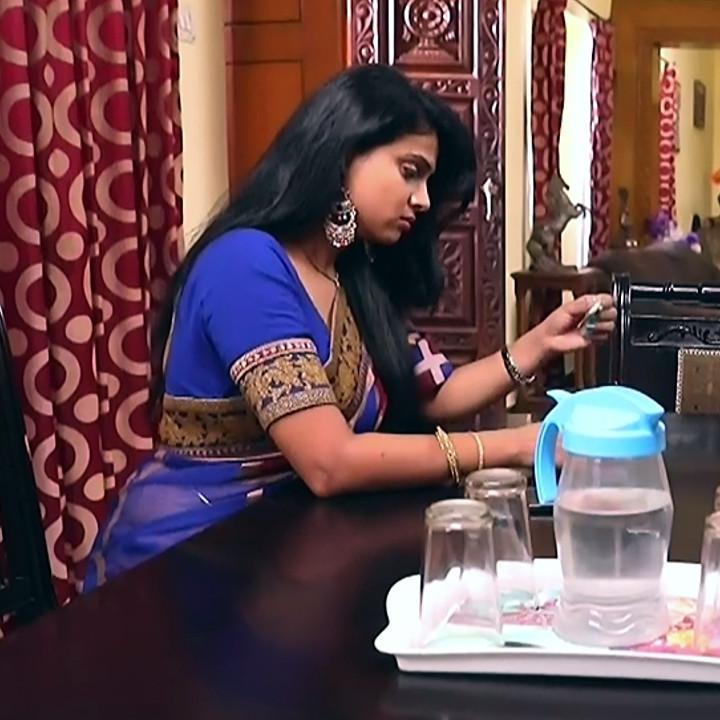 Kavitha tamil tv actress Neeli S1 4 hot saree photo