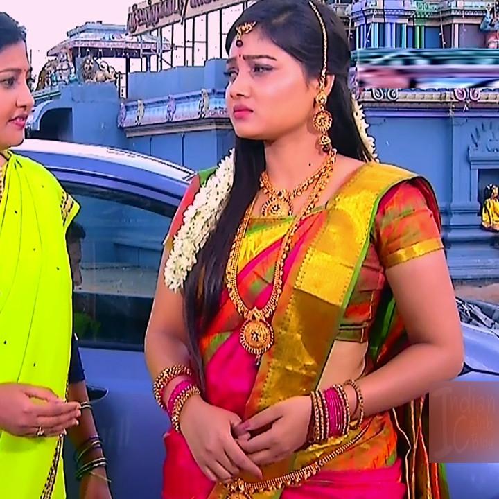 Priyanka nalkari tamil serial actress roja s1 16 sari photo