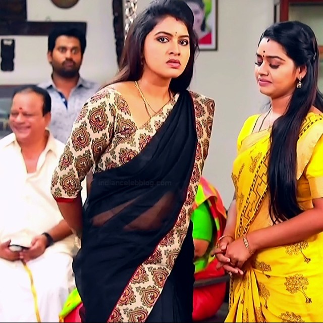 Rachitha mahalakshmi tamil tv actress saravanan MS2 1 saree photo