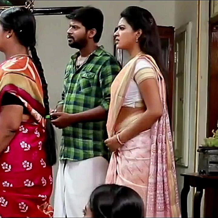 Rachitha mahalakshmi tamil tv actress saravanan MS2 14 saree pics