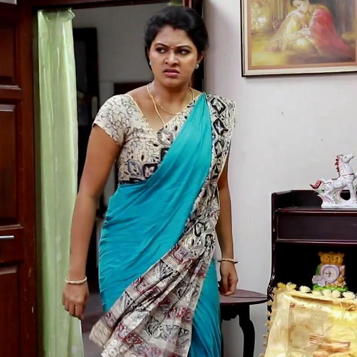 Rachitha mahalakshmi tamil tv actress saravanan MS2 20 saree photo
