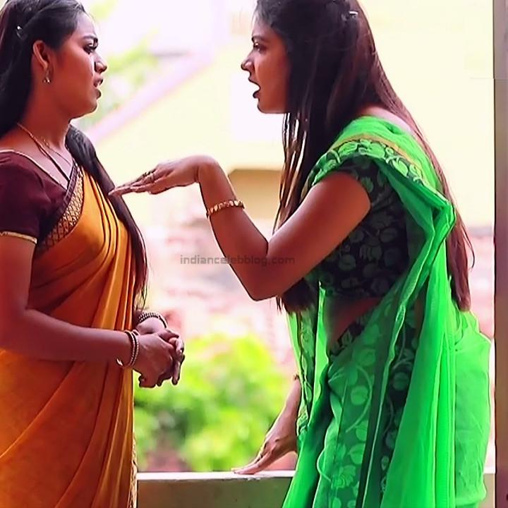 Rachitha mahalakshmi tamil tv actress saravanan MS2 7 sari caps