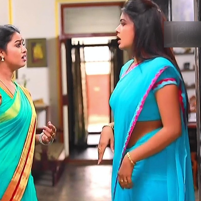 Rachitha mahalakshmi tamil tv actress saravanan MS2 8 sari photo