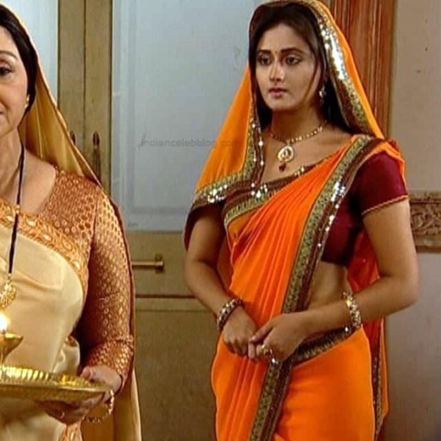 Rashami Desai hindi tv actress Uttaran S1 14 sari caps