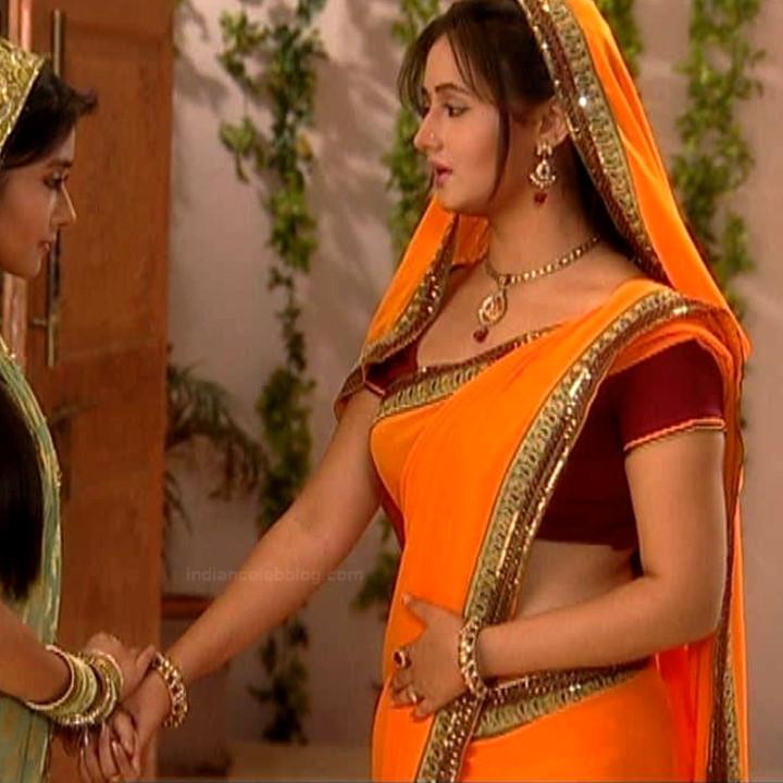 Rashami Desai hindi tv actress Uttaran S1 15 sari caps