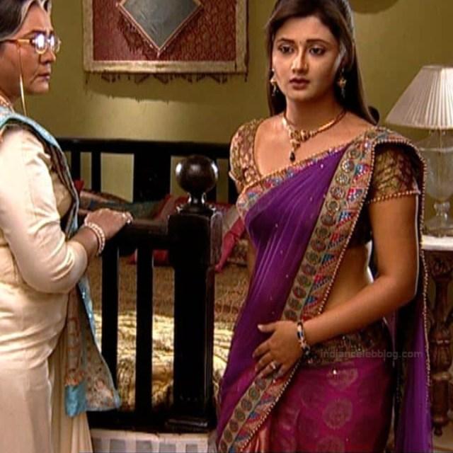 Rashami Desai hindi tv actress Uttaran S1 17 hot saree caps