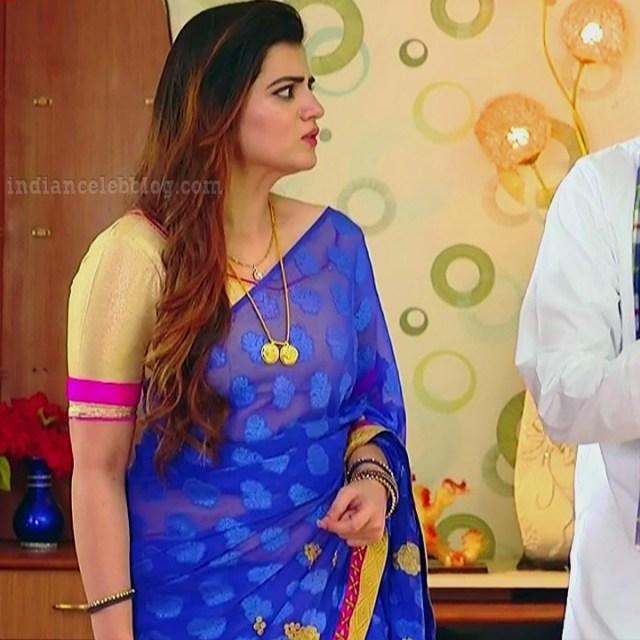 Aishwarya gowda telugu tv actress Akka MS1 11 sari pics
