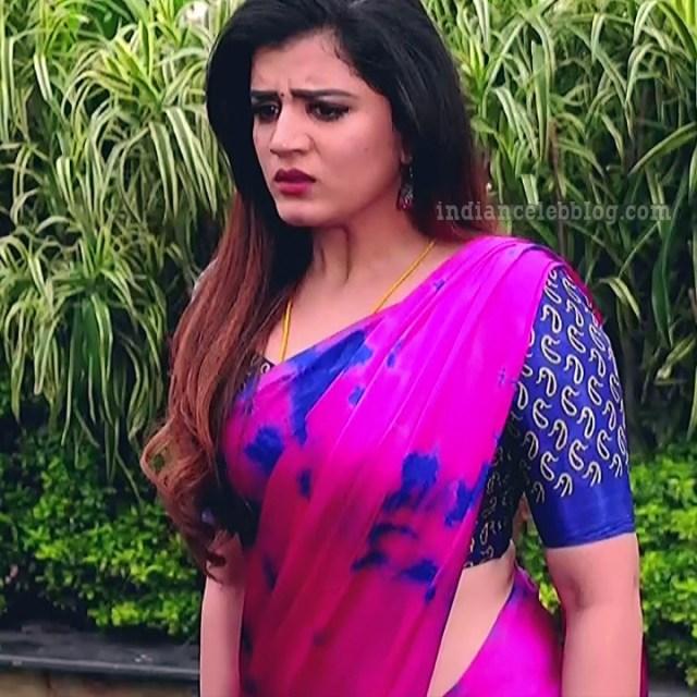 Aishwarya gowda telugu tv actress Akka MS1 17 saree photo