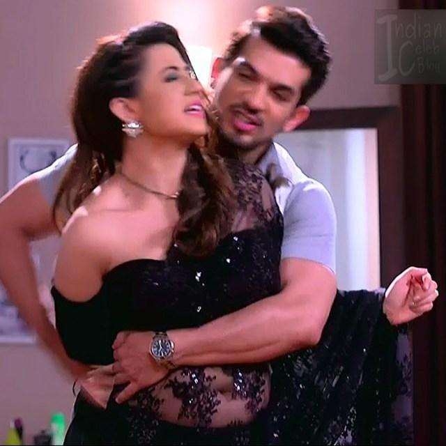 Alisha panwar hindi tv actress Ishq MMS3 12 hot saree caps