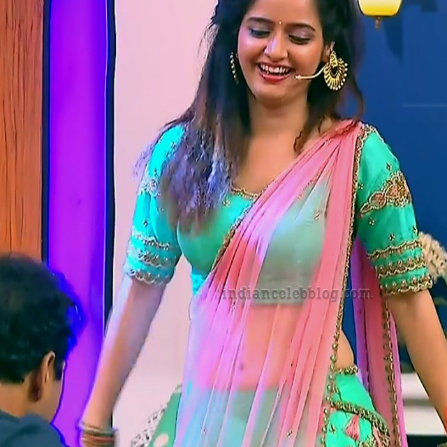Ashika ranganath Kannada film actress EventsS1 10 Lehenga photo