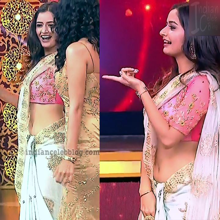 Ashika ranganath Kannada film actress EventsS1 4 Saree photo