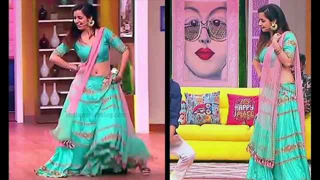 Ashika ranganath Kannada film actress EventsS1 9 Lehenga photo