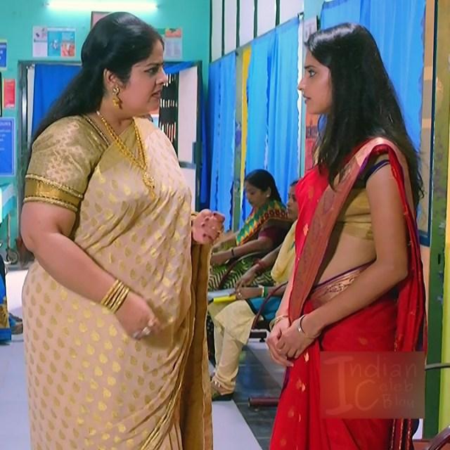 Ayesha tamil TV actress Maya S1 2 hot saree photo