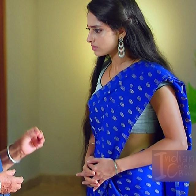Ayesha tamil TV actress Maya S1 9 hot saree photo