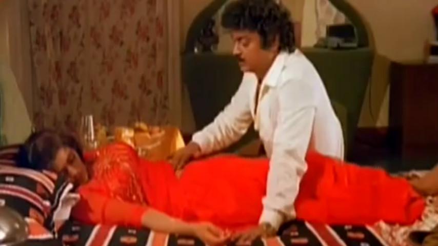 Bhanupriya Navel massage scene - hot video clip
