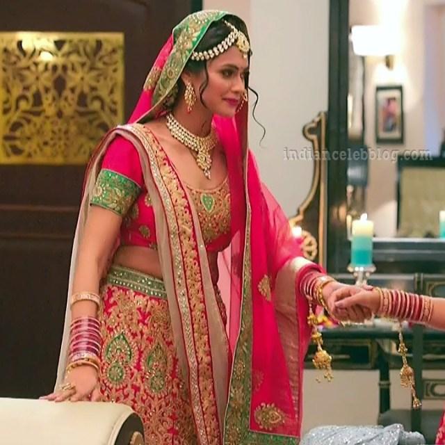 Charvi saraf hindi tv actress Naagin 3S1 13 hot lehenga pic