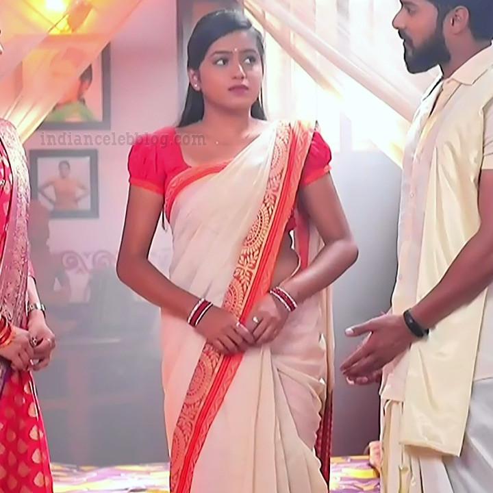 Deepika aradhya kannada TV actress Bili Hendthi S1 2 Saree photo