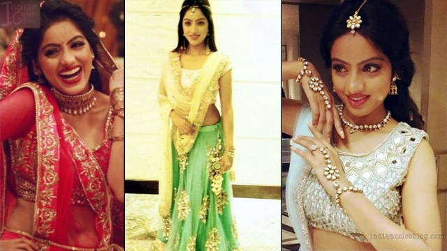 Deepika singh hindi TV actress CTS3 4 hot lehenga pics
