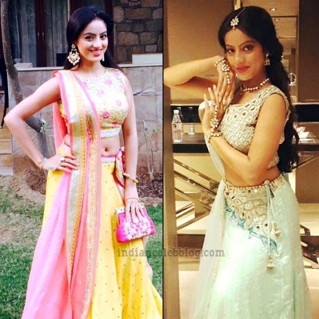 Deepika singh hindi TV actress CTS3 6 hot lehenga pics
