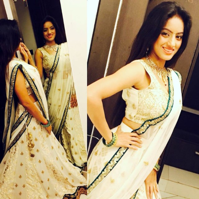 Deepika singh hindi TV actress CTS3 8 hot lehenga photo