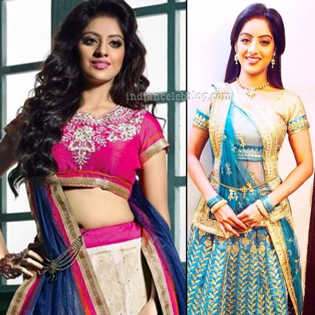 Deepika singh hindi TV actress CTS3 9 hot lehenga pics