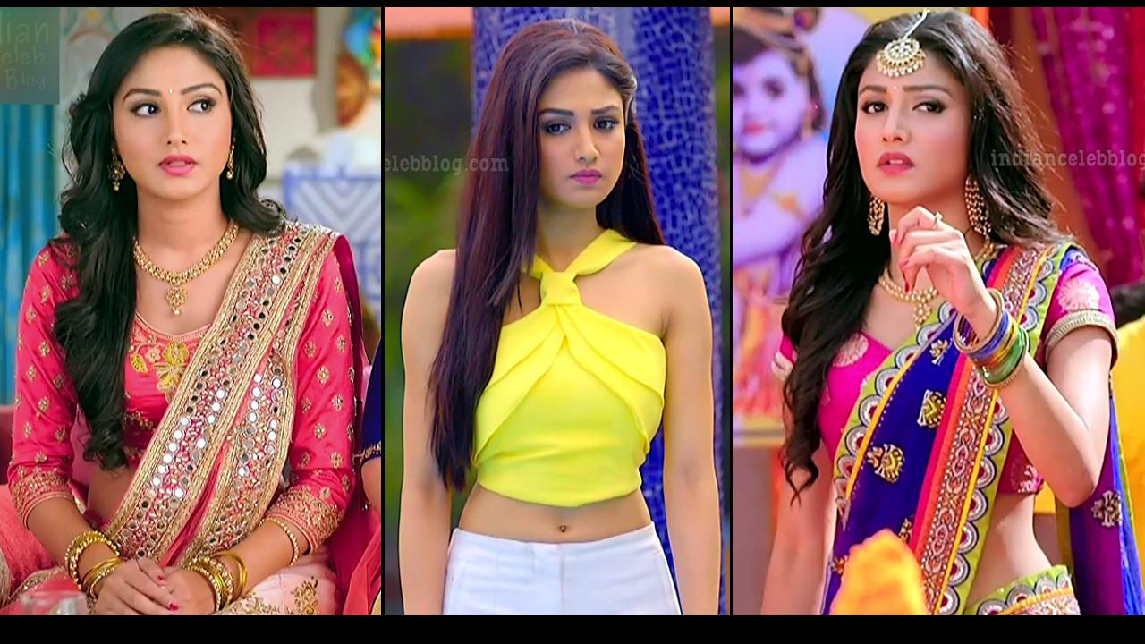 Donal Bisht Tv actress hot caps from Ek deewaana tha