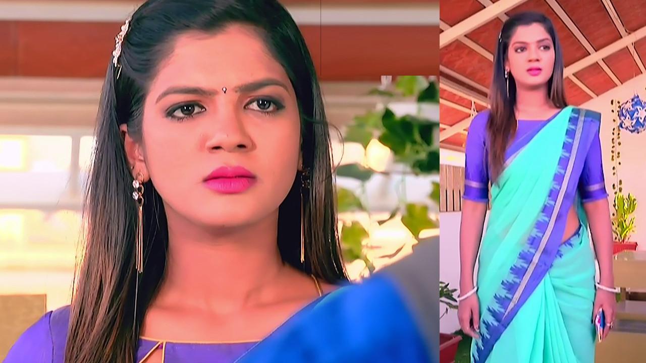 Kannada Serial actress Tapsee Satyam shivam SS1 9 Saree photo