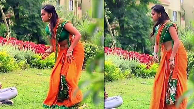 Kannada tv serial actress MiCmpl5 4 saree pics