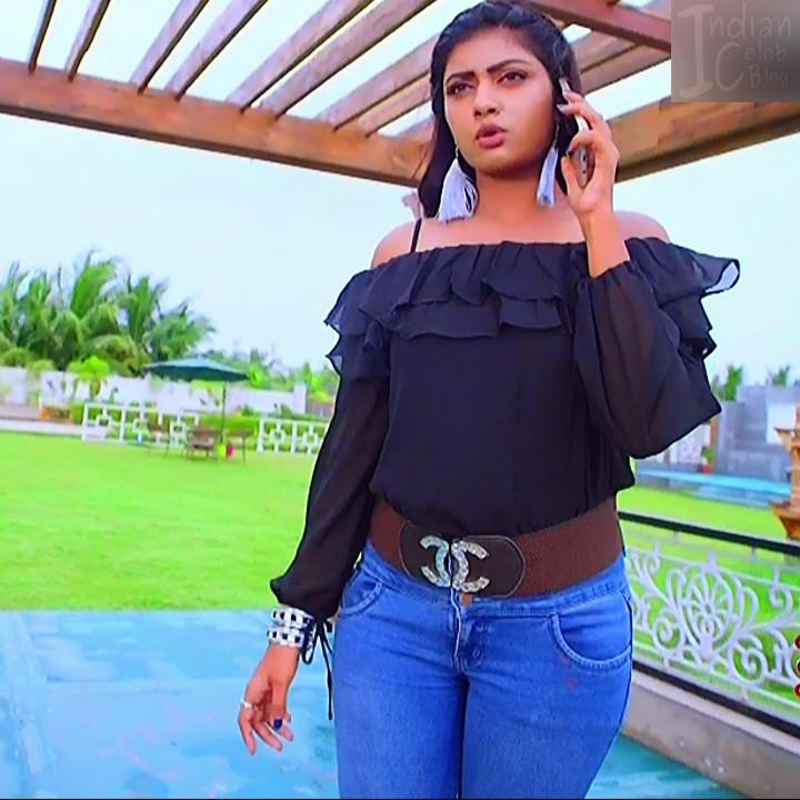 Nakshatra Srinivas Tamil TV serial Maya S1 4 Hot photo