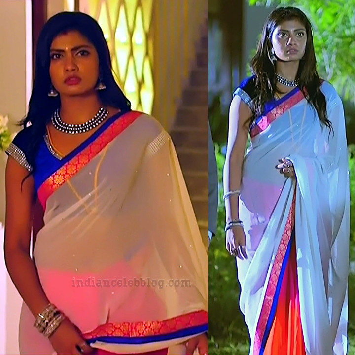 Nakshatra Srinivas Tamil TV serial Maya S1 7 Sari pics