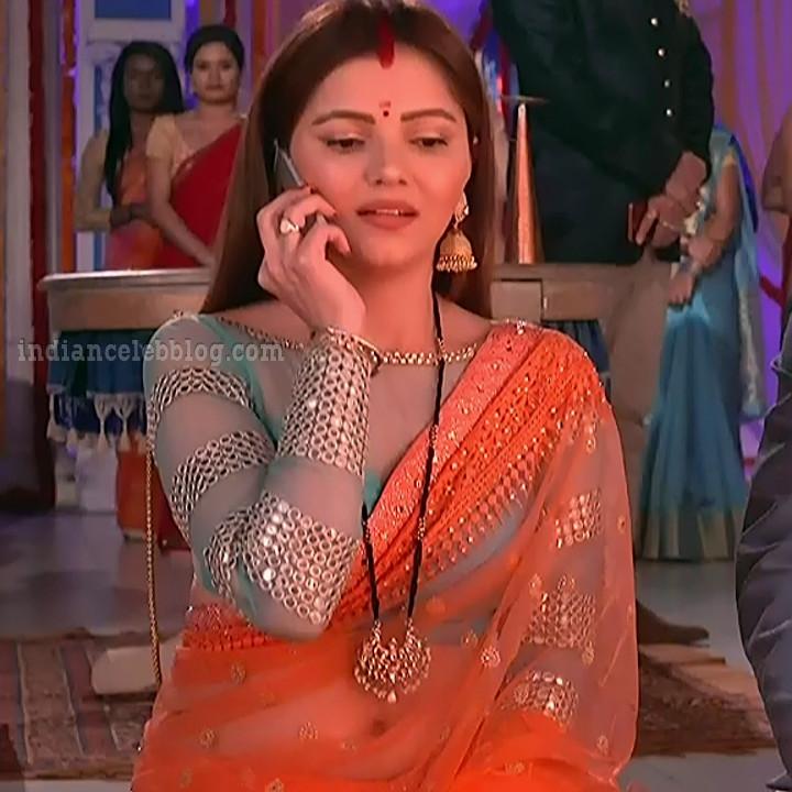 Rubina dilaik Hindi TV actress Shakti AS6 3 hot Saree photo