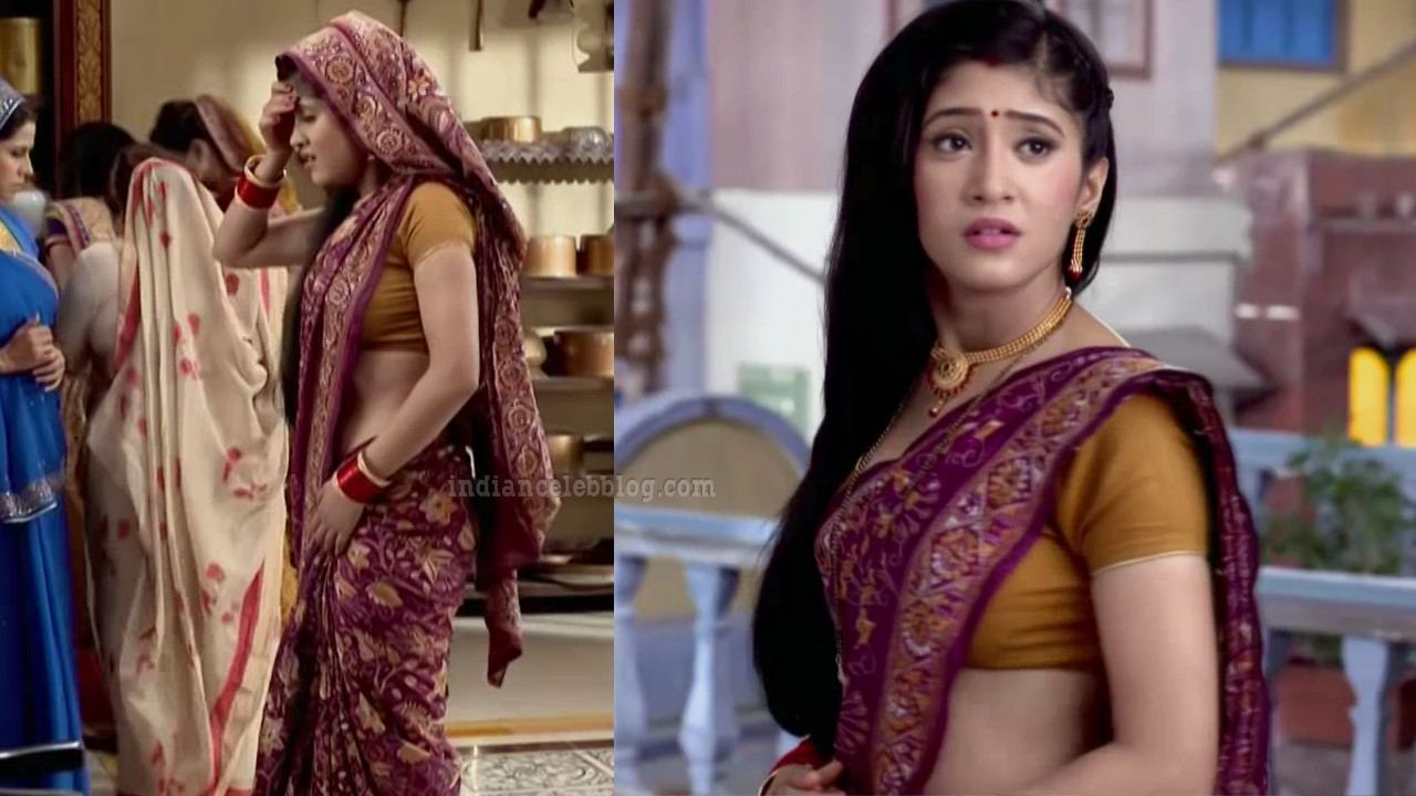 Shivangi joshi Hindi TV Celeb Begusarai S2 4 Saree caps