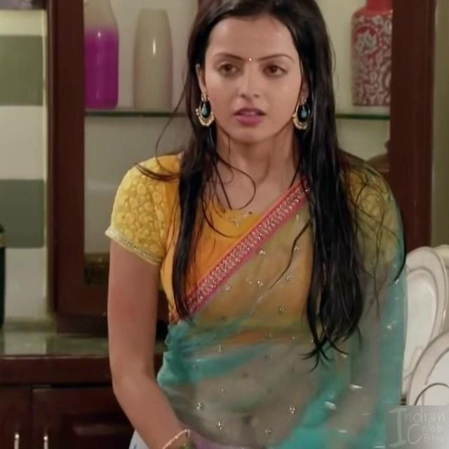 Shrenu parikh hindi tv actress CTS5 1 hot saree navel photo