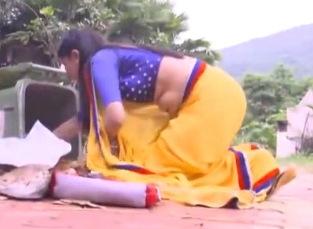 Simran Pareenja_TV Act-KT_54_Saree MR