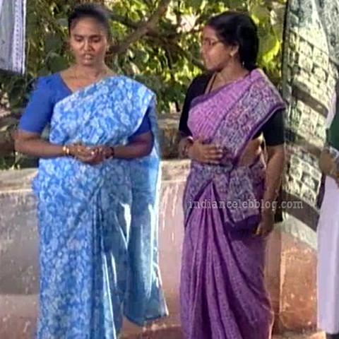 Siva Kavitha tamil tv actress aasai S1 10 saree caps