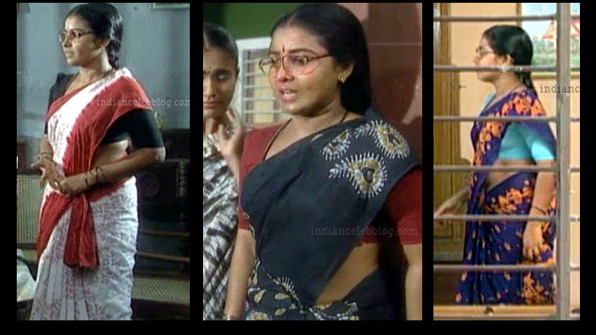 Siva kavitha saree caps from aasai tv serial