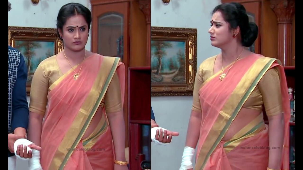 Sravani telugu tv actress Akka MS1 13 hot saree pics