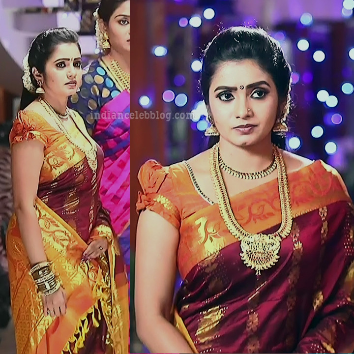 Srithika tamil TV actress KVS1 2 hot saree pics