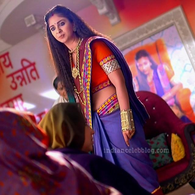 Vidhi pandya hindi tv actress udaan S4 14 hot saree caps