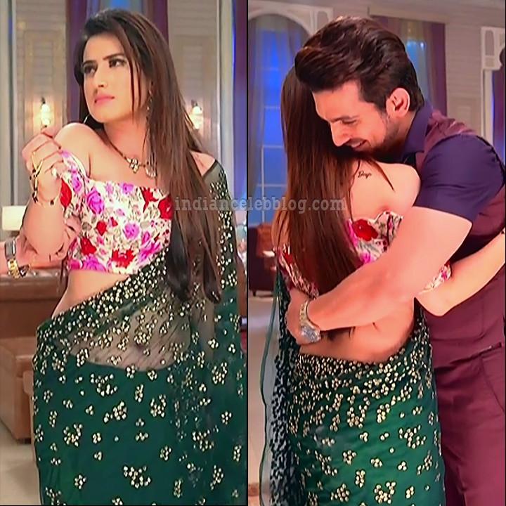 Alisha panwar ishq marjawan actress S4 6 saree navel pics