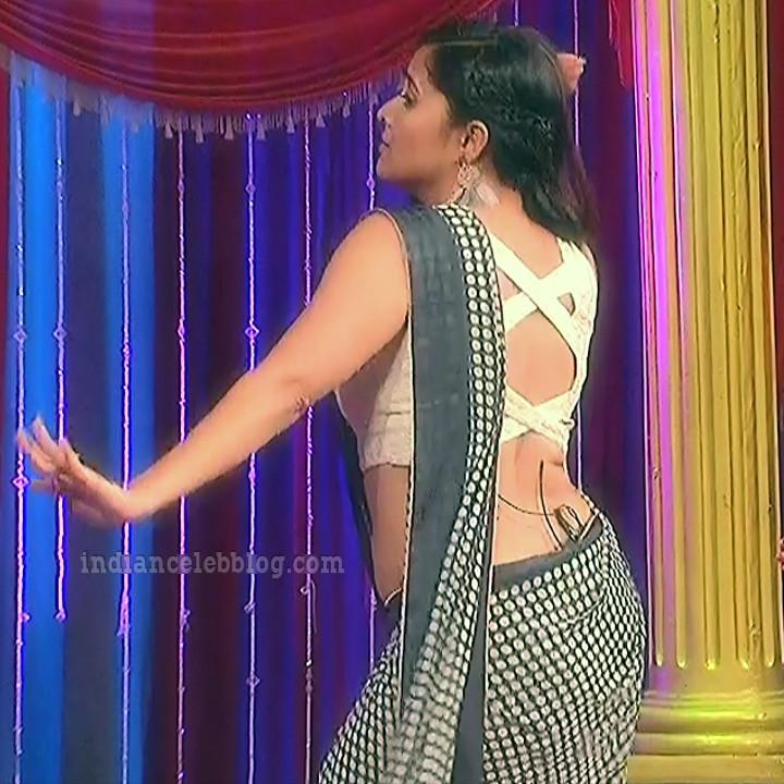 Anasuya teleugu TV anchor Reality show 3 hot saree dance