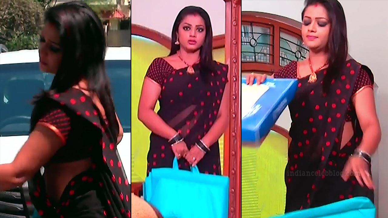 Anusri Telugu TV serial actress MscC5 9 sari pic